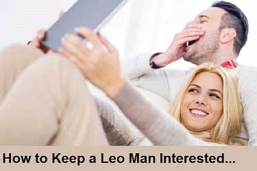 How to keep a Leo man interested