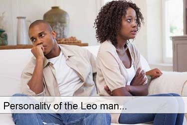 Personality of the Leo  man