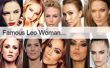 Famous Leo woman