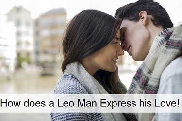 How a Leo Expresses His Love
