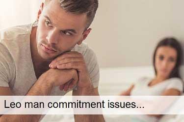 Leo man commitment issues