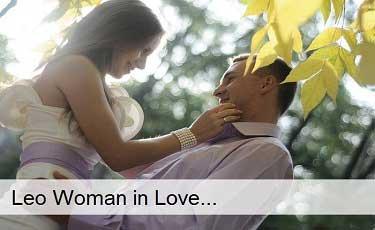 Leo Woman in Love