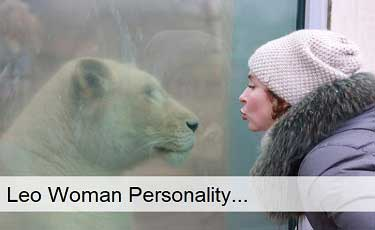 Leo woman personality
