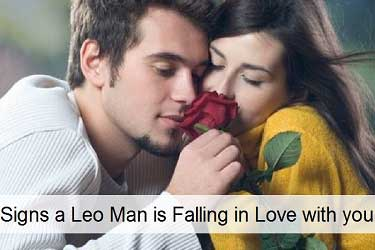 Signs a Leo man is falling in love with you