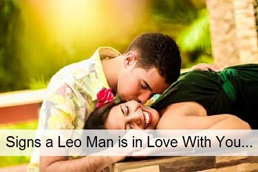 Signs a Leo man is in love with you