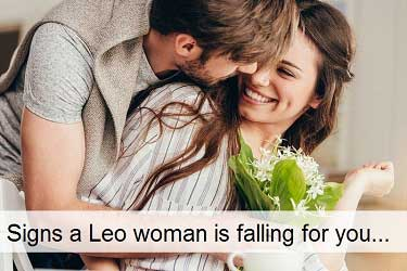 Signs a Leo woman is falling for you