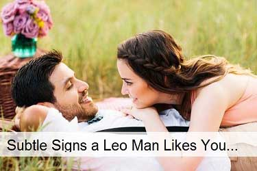 Subtle Signs a Leo Man Likes You