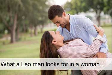 What a Leo man looks for in a woman