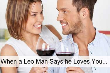 When LEO man says he loves you