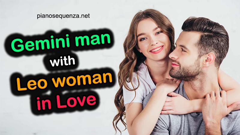 gemini man leo woman love